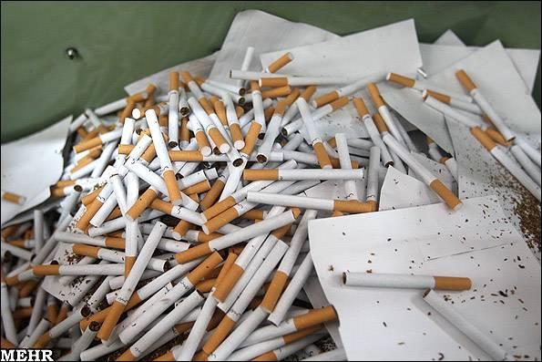 عکس های کارخانه تولید سیگار