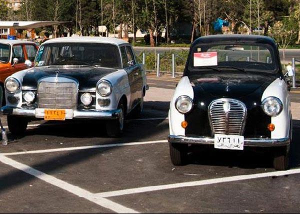 اولین تاکسی در ایران / عکس