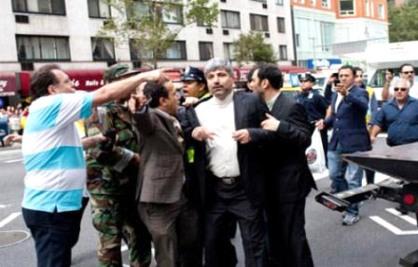 واکنش یک مقام ایرانی درباره حمله به مهمانپرست/ عکس