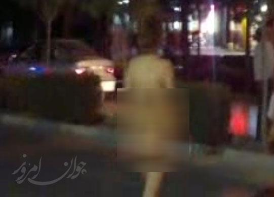 زن برهنه