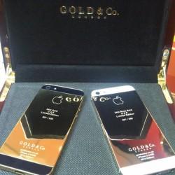 اولین آیفون 5 ساخته شده از طلای 24 عیار