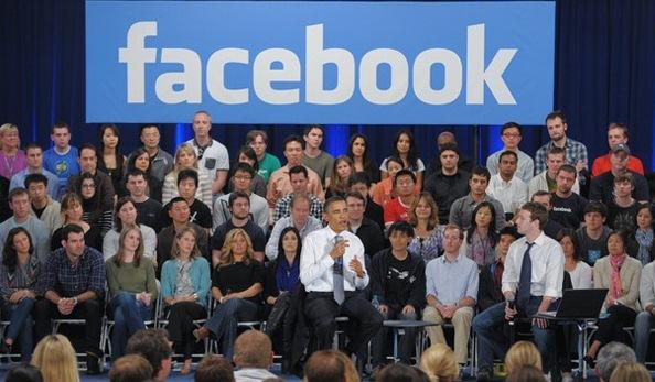 نگرانی اوباما از حضور دخترش در فیسبوک