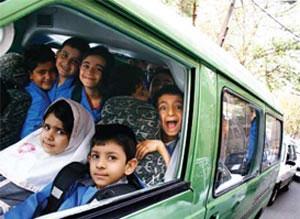 اولین حادثه برای سرویس مدارس پایتخت