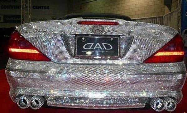ماشین الماس شاهزاده عربستان / عکس