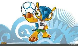 نماد جام جهانی ۲۰۱۴ برزیل رونمایی شد + عکس