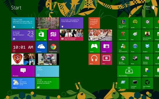 شکایت از مایکروسافت به خاطر کاشی های زنده در ویندوز ۸