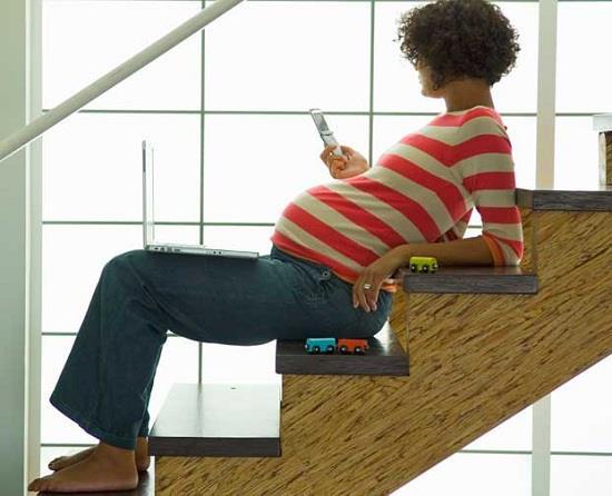 تأثیرات منفی تشعشعات تلفن همراه بر روی زنان باردار