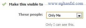6268 پنهان کردن لیست دوستان در فیسبوک