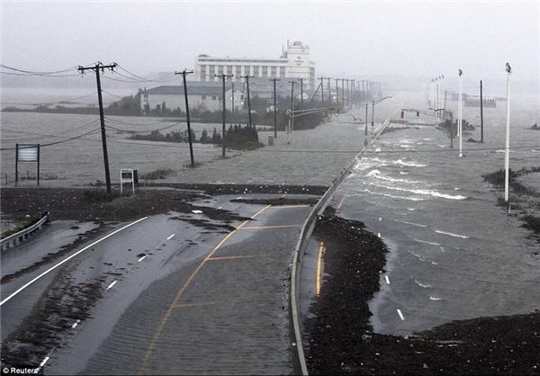 عکسهایی از خرابی های طوفان سندی در آمریکا
