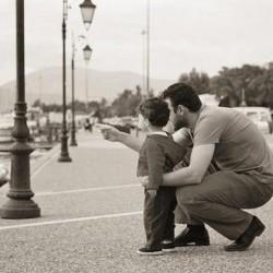 تصاویر عشق پدر و فرزند