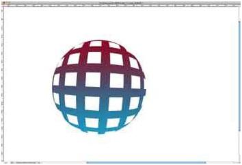 گوی سه بعدی رنگی در فتوشاپ