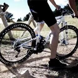 عکس های جالب از لاستیک های دوچرخه بدون نیاز به باد
