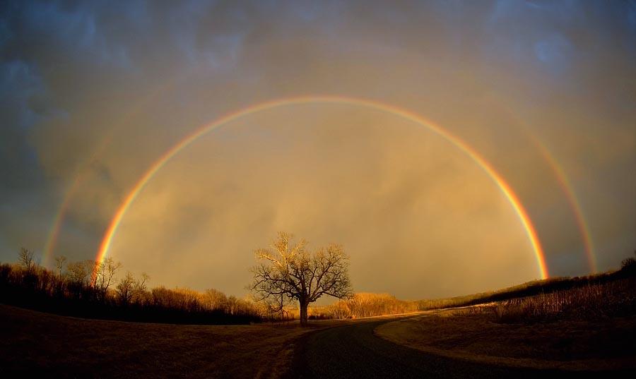 تصاویر رنگین کمان های دیدنی و زیبا