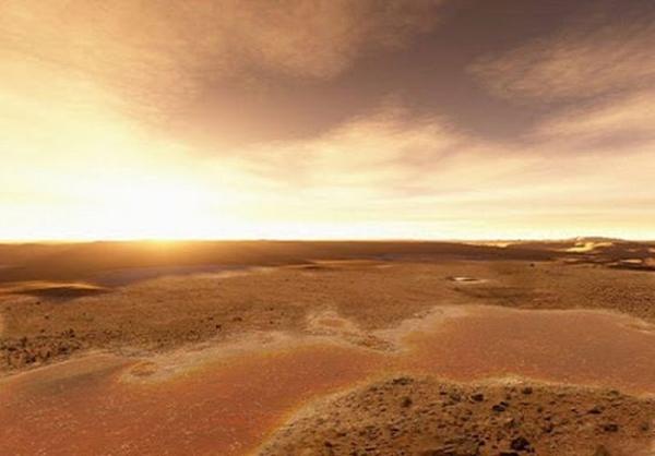 تصاویر زیبا از طلوع خورشید در مریخ