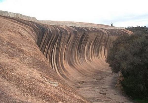 تصاویر دیدنی از امواج صخرهای