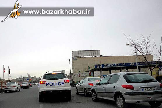 خودرو آمریکایی پلیس تبریز +تصاویر