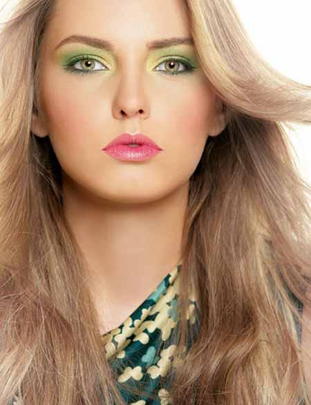 مدل های زیبای آرایش صورت و ابرو ۲۰۱۳