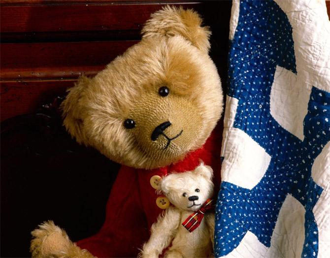 عکس های عاشقانه جدید از عروسک خرس
