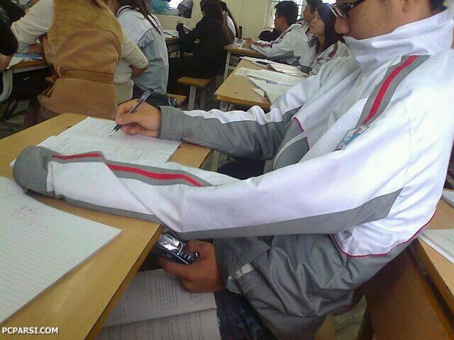 آموزش تقلب.به مناسبت فرا رسیدن ایام فرخنده امتحانات!
