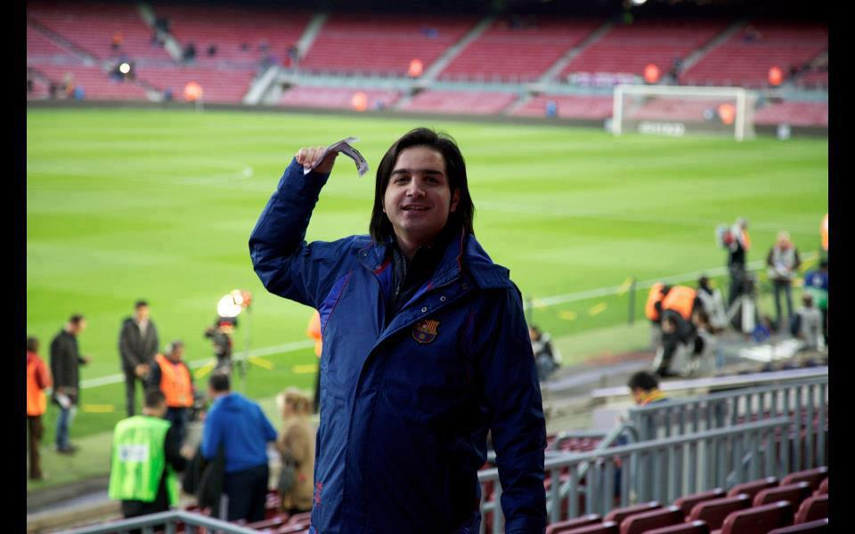 محسن یگانه در بارسلونا