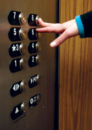 آداب کارکردن با آسانسور