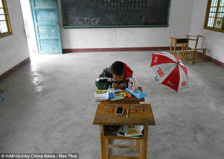 فرق بزرگ و اساسی سیستم آموزشی ایران و چین!! + عکس