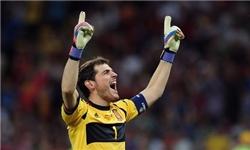 ایکر کاسیاس بهترین دروازه بان ۲۰۱۲