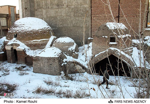 تصاویر حمام تاریخی ملا هادی اردبیل