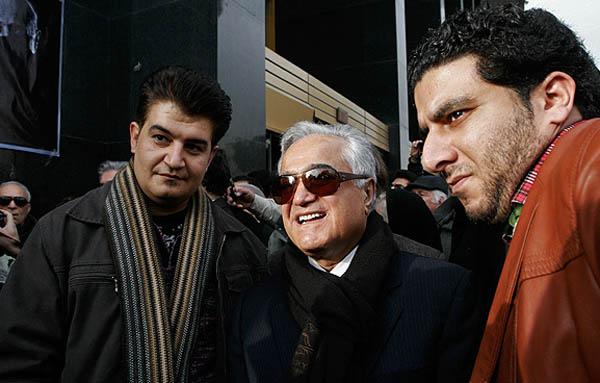 محمدرضا شجریان در مراسم تشییع پیکر همایون خرم + عکس