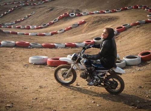 عکس های دختران موتورسوار تهرانی