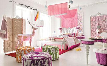 چطور یک اتاق خواب رویایی دخترانه درست کنیم؟