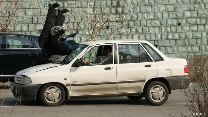عکس های دیدنی از مهسا احمدی اولین دختر بدلکار ایرانی