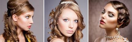 bride hairstyles 01 مدل مو عروس 2013