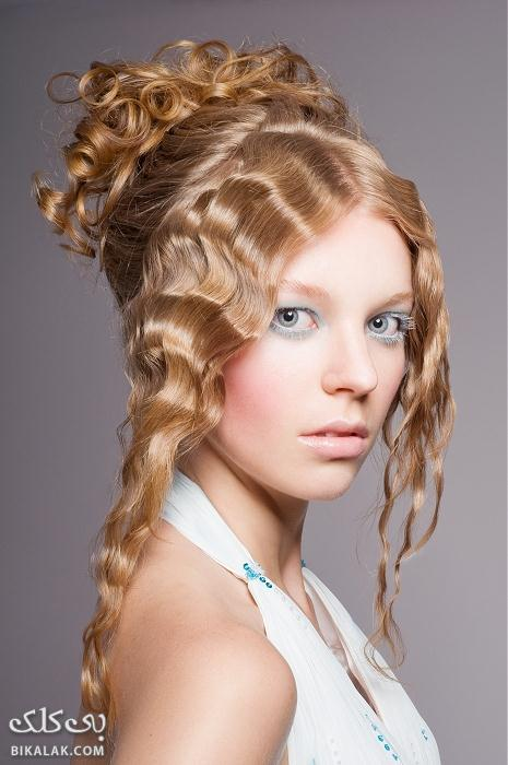 Bikalak.com مدل مو عروس جدید و زیبا