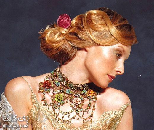 bride hairstyles 111 مدل مو عروس 2013