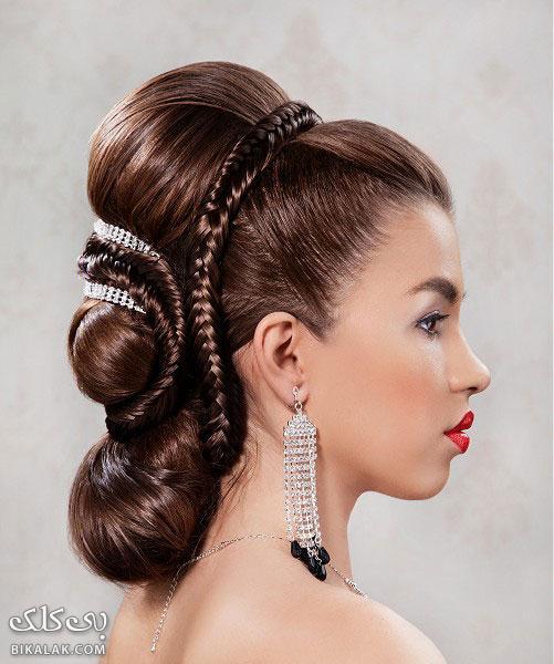 bride hairstyles 181 مدل مو عروس 2013