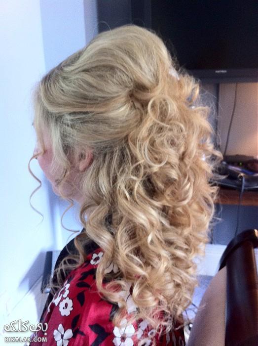 bride hairstyles 191 مدل مو عروس 2013