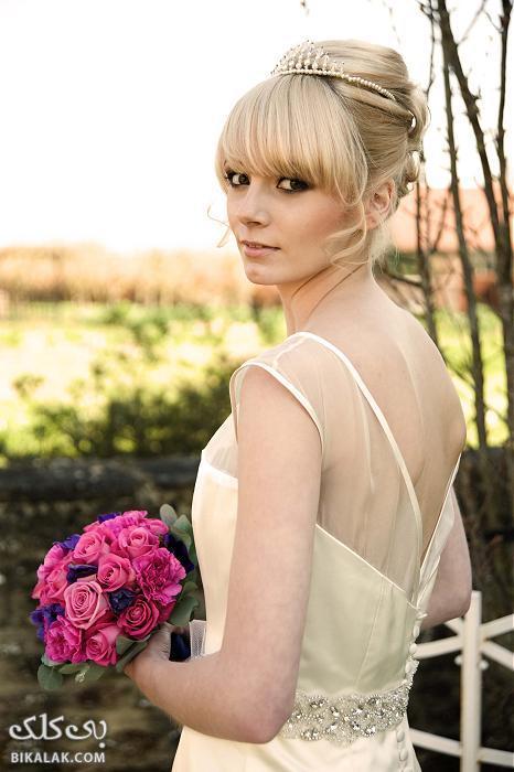 bride hairstyles 201 مدل مو عروس 2013