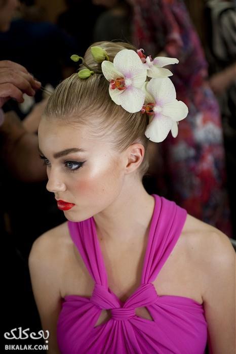 bride hairstyles 211 مدل مو عروس 2013