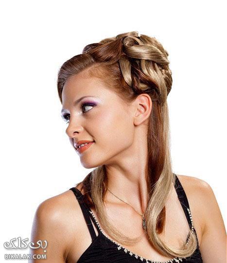 bride hairstyles 221 مدل مو عروس 2013