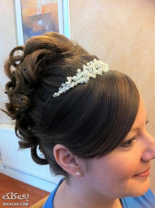 bride hairstyles 231 مدل مو عروس 2013