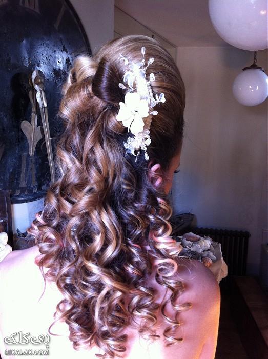 bride hairstyles 241 مدل مو عروس 2013