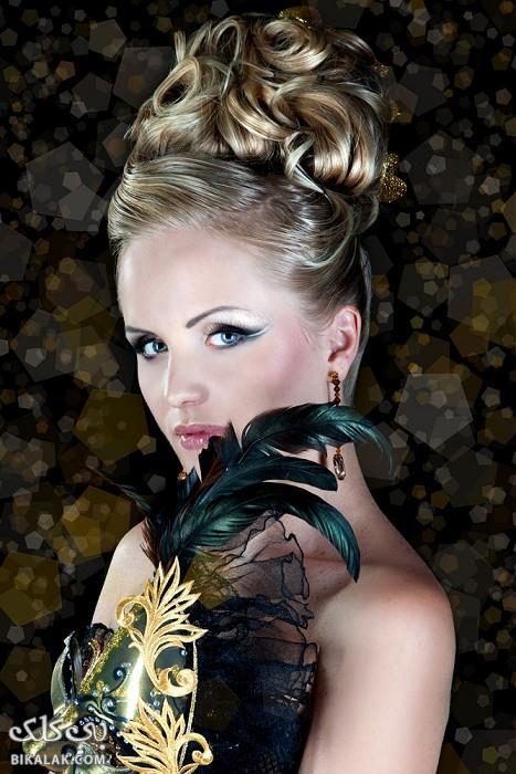 bride hairstyles 281 مدل مو عروس 2013