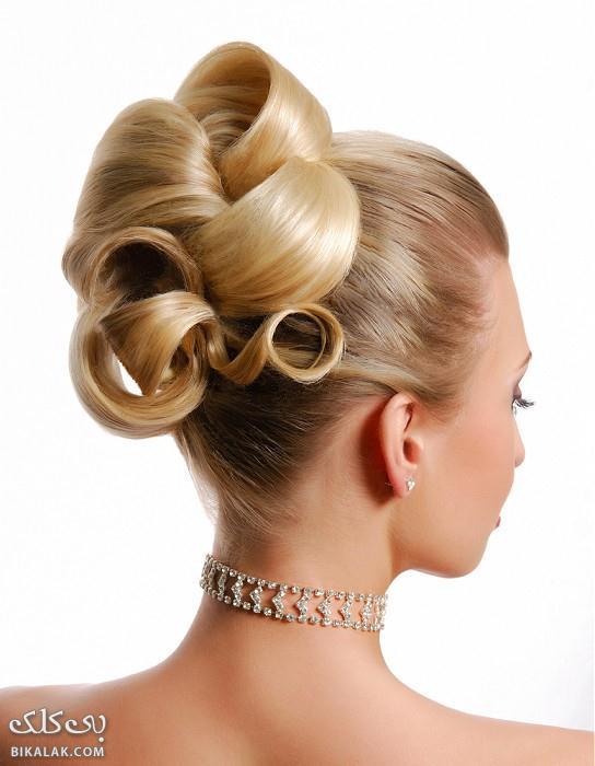 bride hairstyles 301 مدل مو عروس 2013