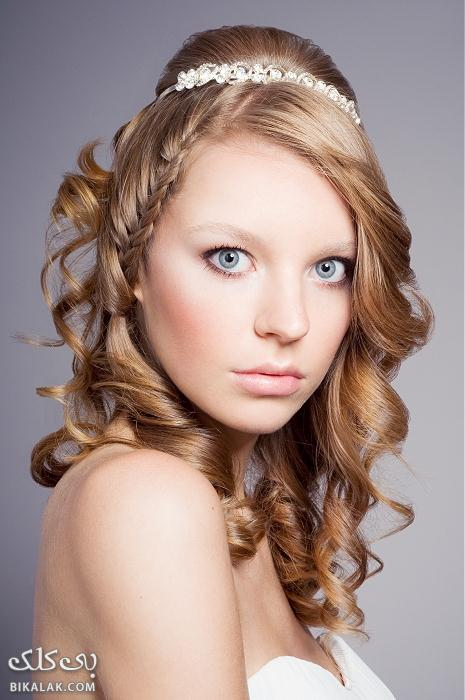 bride hairstyles 31 مدل مو عروس 2013
