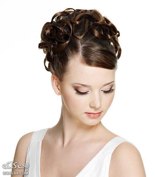 bride hairstyles 312 مدل مو عروس 2013