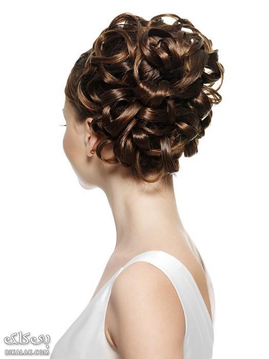 bride hairstyles 321 مدل مو عروس 2013
