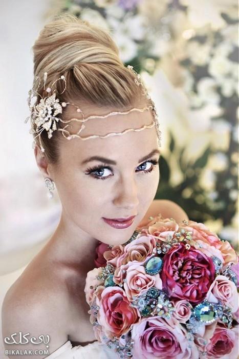 bride hairstyles 341 مدل مو عروس 2013