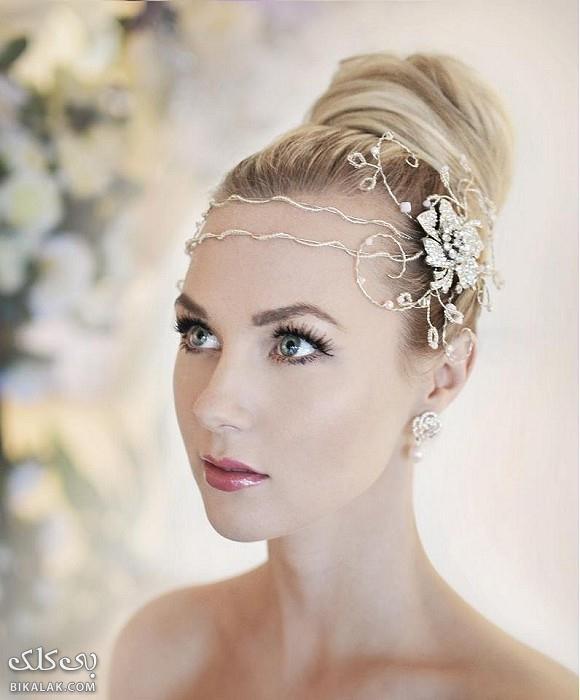bride hairstyles 351 مدل مو عروس 2013