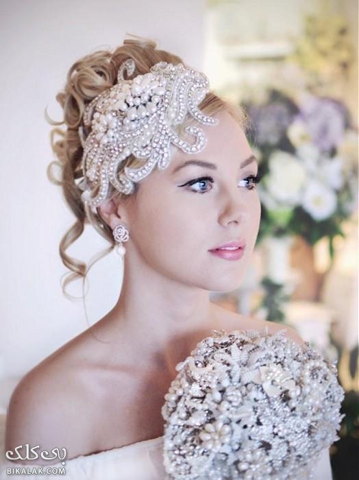 bride hairstyles 361 مدل مو عروس 2013